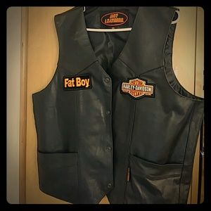 Other - Leather 3XL, MOTORCYCLE VEST, NWT